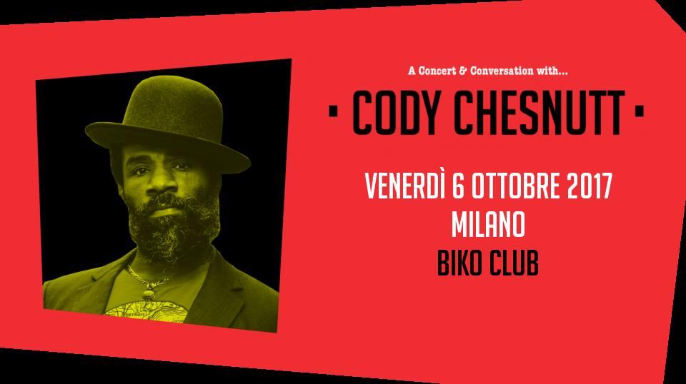 Cody Chesnutt live al Biko