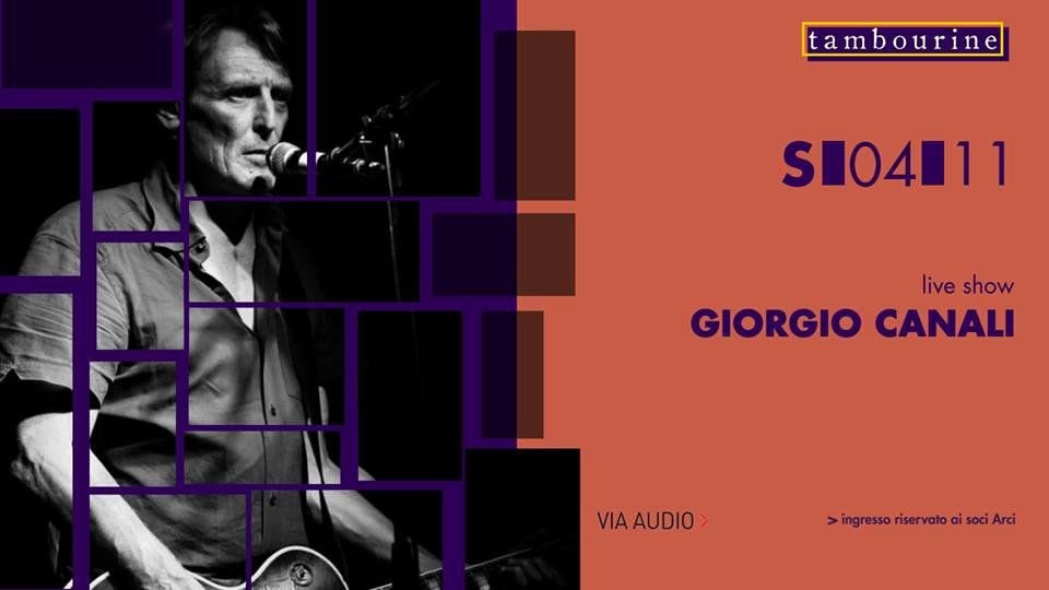 Giorgio Canali_Tambourine
