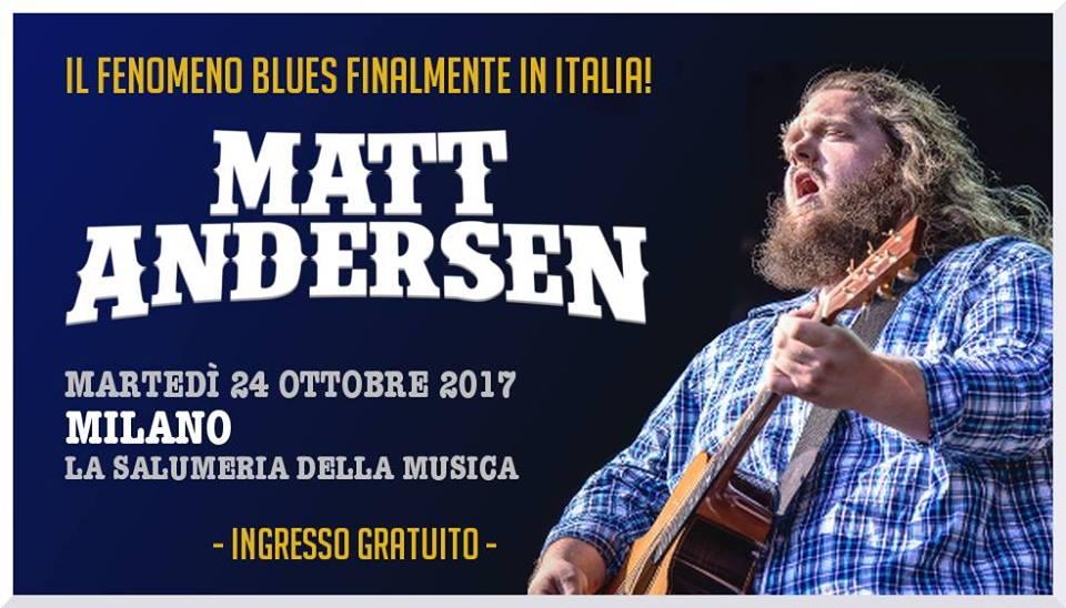 Matt Andersen a La Salumeria della Musica