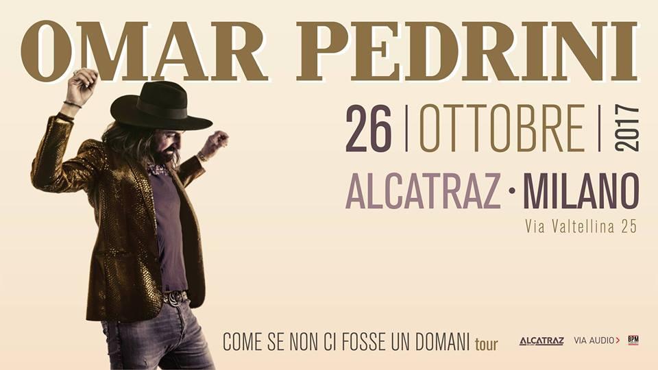 Omar Pedrini_Alcatraz Milano