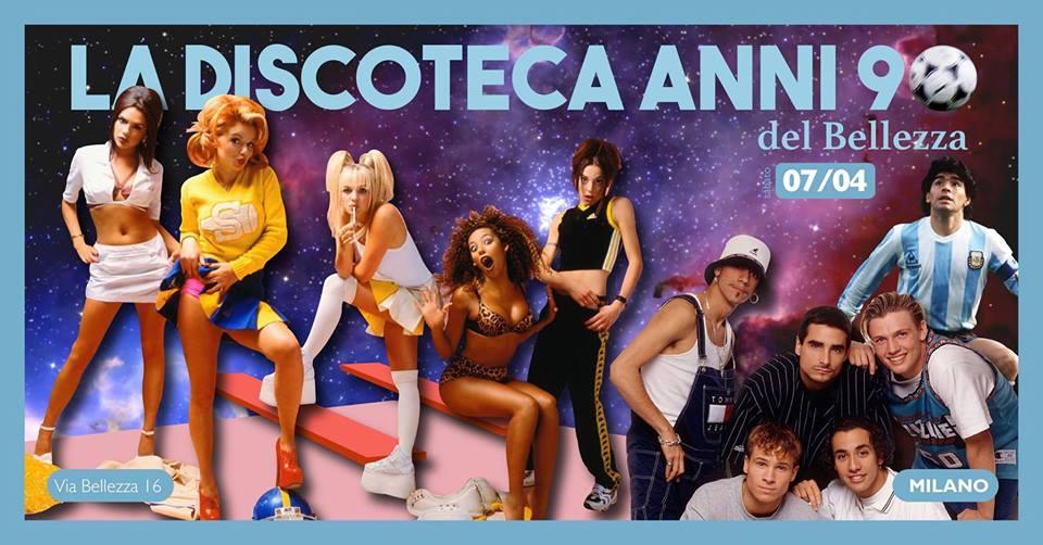 Discoteca anni 90_Arci Bellezza