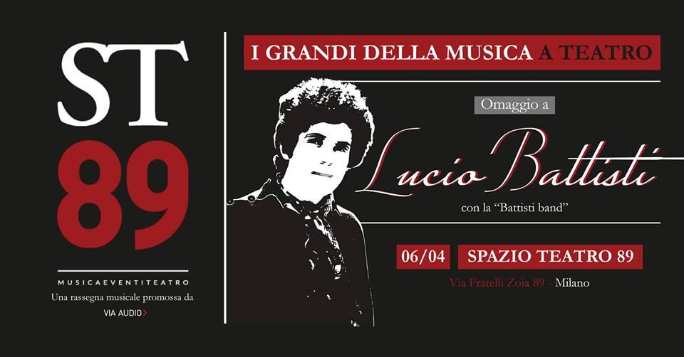 Musica a Teatro_Omaggio a Lucio Battisti